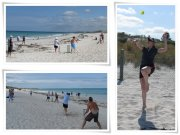 Beach Cricket Xmas 2011